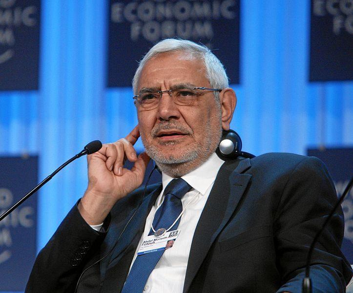 اسباب اعتقال رئيس حزب مصر القوية عبدالمنعم ابو الفتوح