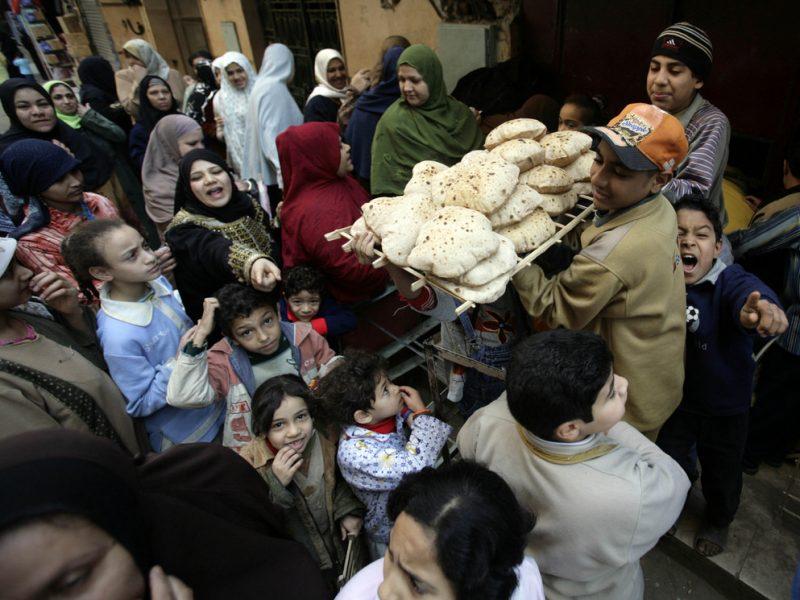بحث عن الزيادة السكانية والمشكلة السكانية في مصر