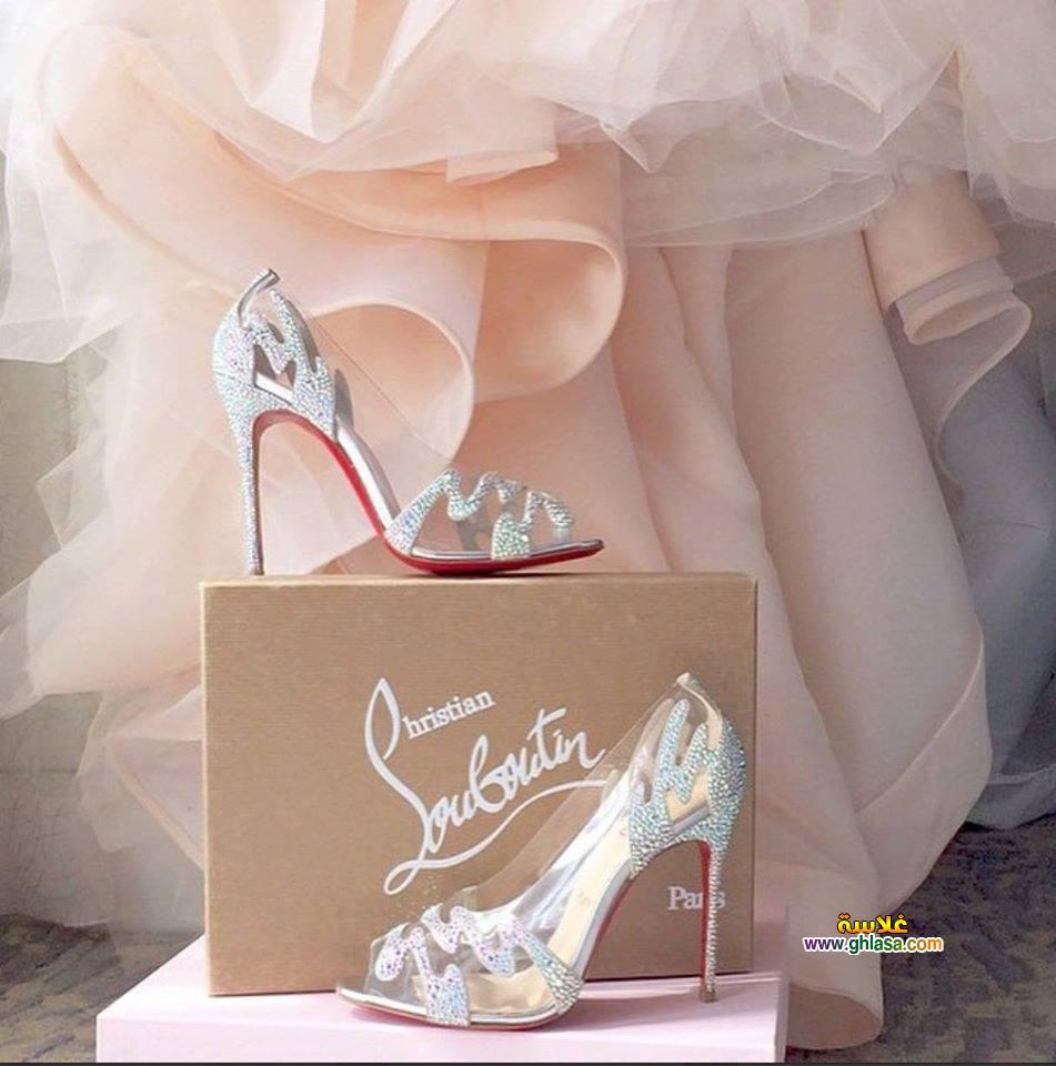 فستان الزفاف 2 - صور حذاء فستان الزفاف الابيض 2018