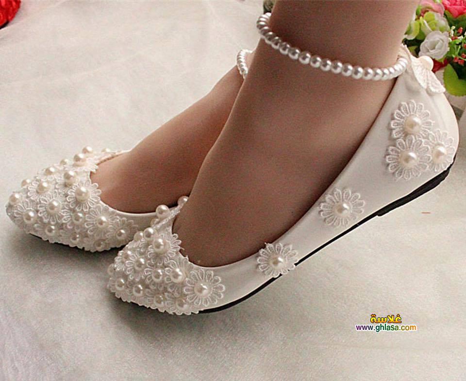 احذية فساتين الزفاف