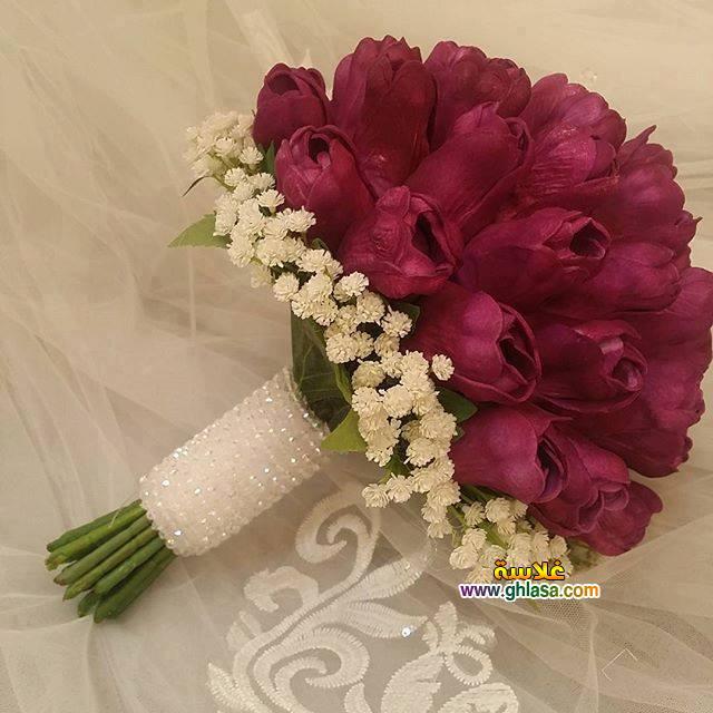 صور باقة ورد لفساتين الزفاف والخطوبة