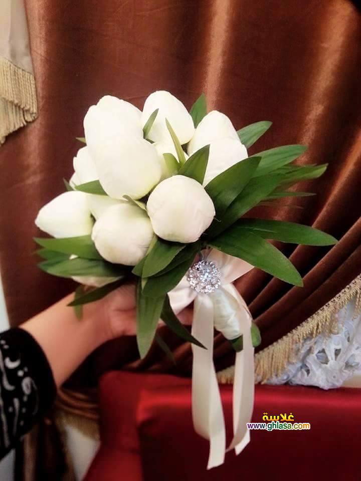 ورد فستان الزفاف 10 - صور باقة ورد لفساتين الزفاف والخطوبة