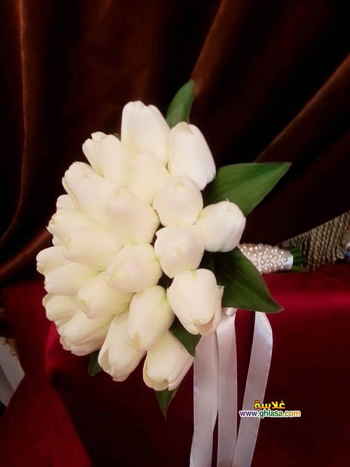 ورد فستان الزفاف 16 - صور باقة ورد لفساتين الزفاف والخطوبة