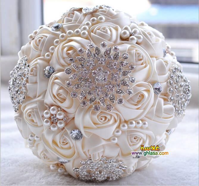 ورد فستان الزفاف 17 - صور باقة ورد لفساتين الزفاف والخطوبة