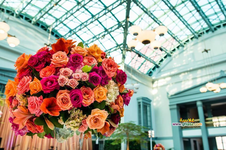 ورد فستان الزفاف 20 - صور باقة ورد لفساتين الزفاف والخطوبة