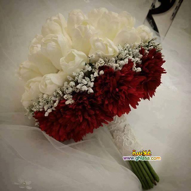 ورد فستان الزفاف 21 - صور باقة ورد لفساتين الزفاف والخطوبة