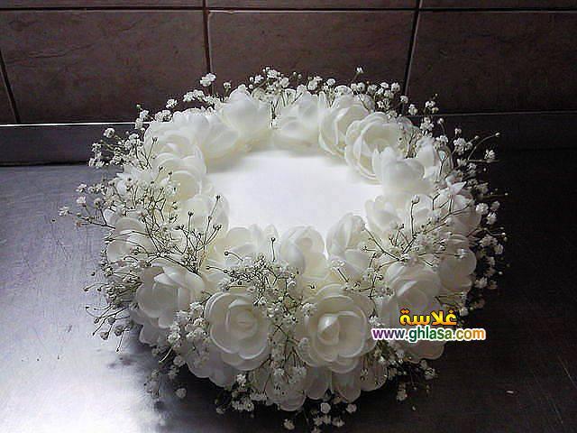 ورد فستان الزفاف 22 - صور باقة ورد لفساتين الزفاف والخطوبة
