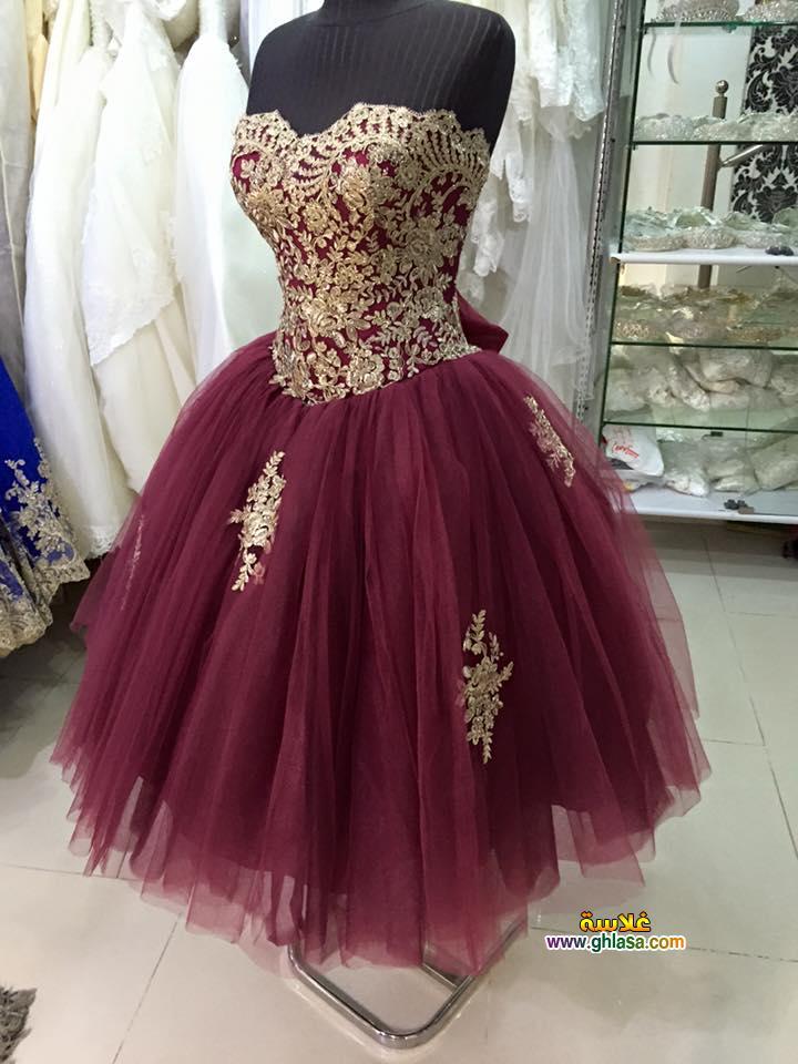 فساتين الخطوبة اجمل فستان شبكة العروسة