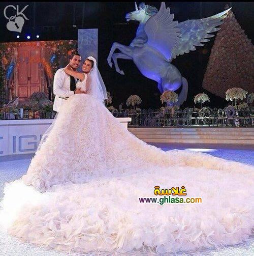 اجمل فساتين زفاف صور فستان الفرح 2018