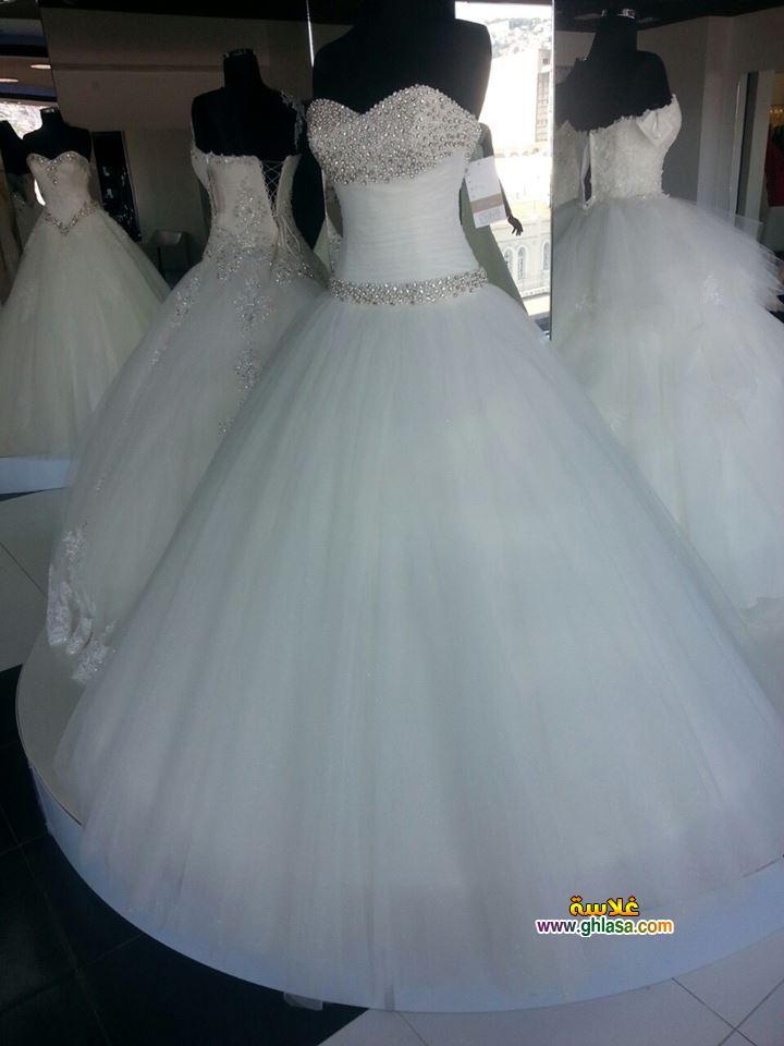 اجمل فساتين زفاف صور فستان الفرح