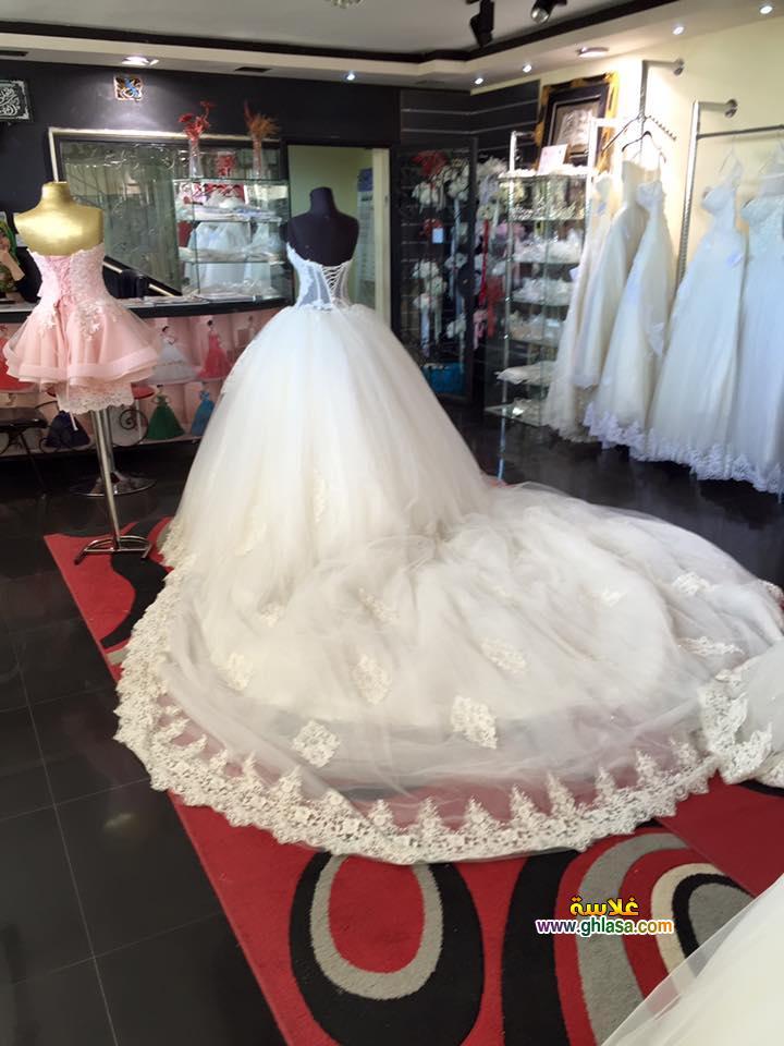 صور فستان زفاف 2018