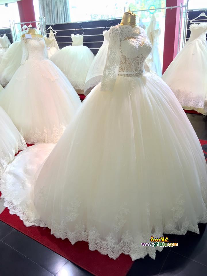 احلى صور فستان زفاف 2018