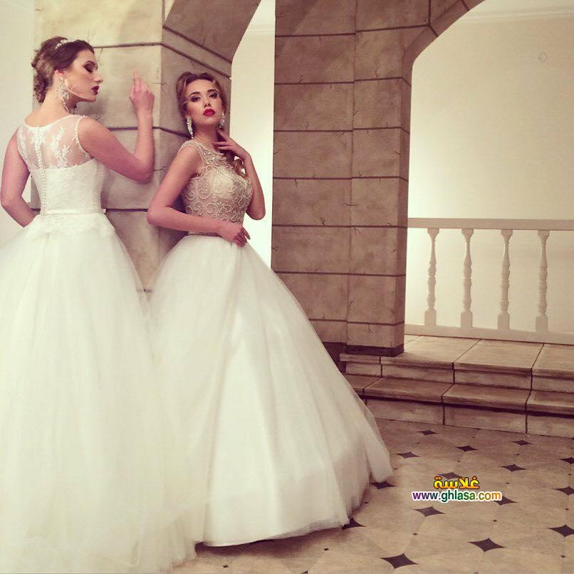 صور فستان زفاف مميزة 2018