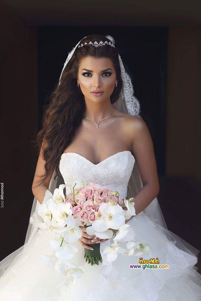 احلى صور فستان زفاف 2019