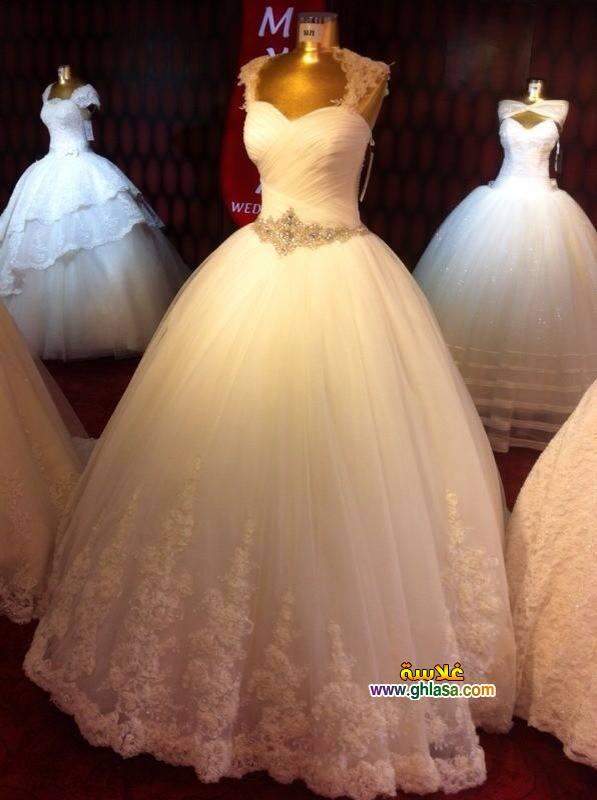 صور فستان زفاف