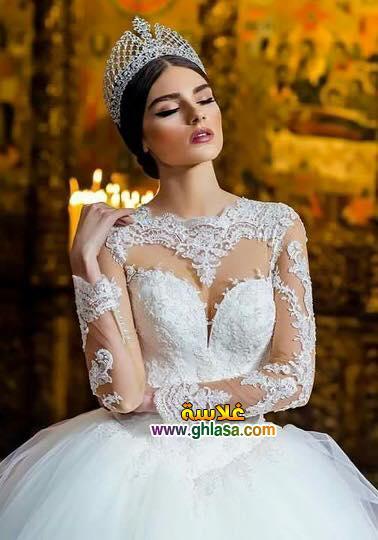 احدث صور فساتين زفاف
