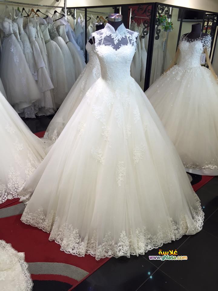 احلى صور لفساتين زفاف ليلة الدخلة 2018