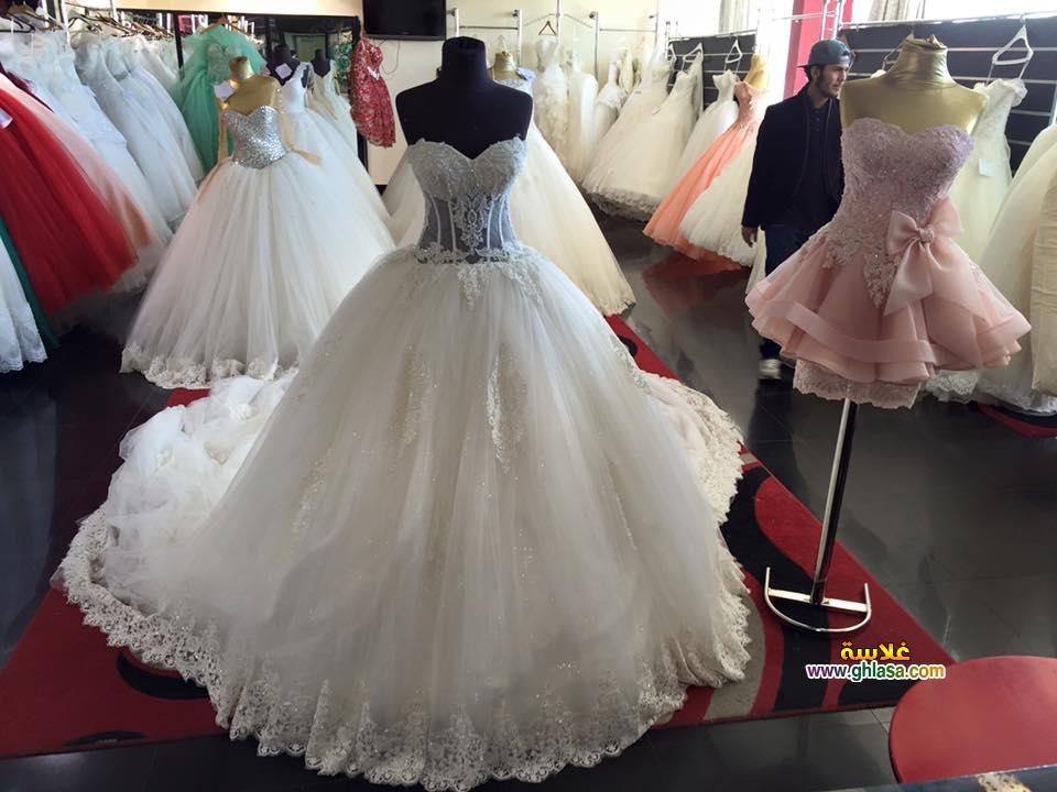 زفاف ابيض 2018 12 - فستان زفاف ابيض فساتين زفاف ليلة العمر 2018