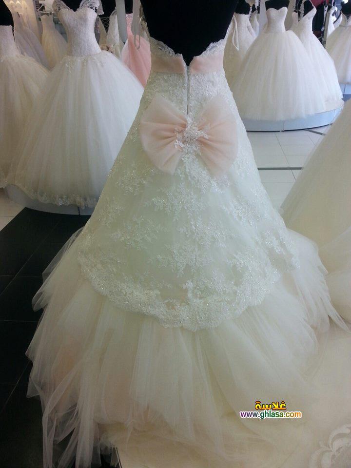 زفاف ابيض 2018 13 - فستان زفاف ابيض فساتين زفاف ليلة العمر 2018