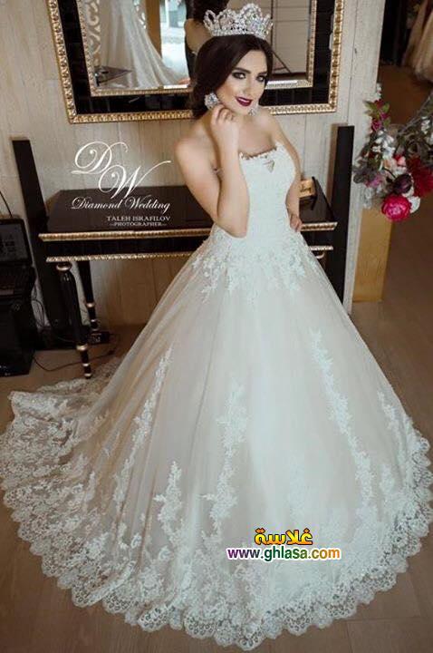 اجمل فستان زفاف