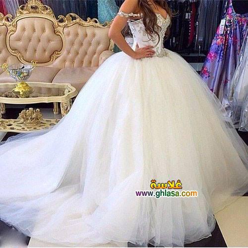 احلى صور لفساتين زفاف 2018