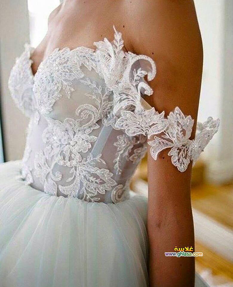 صور فساتين زفاف 2018