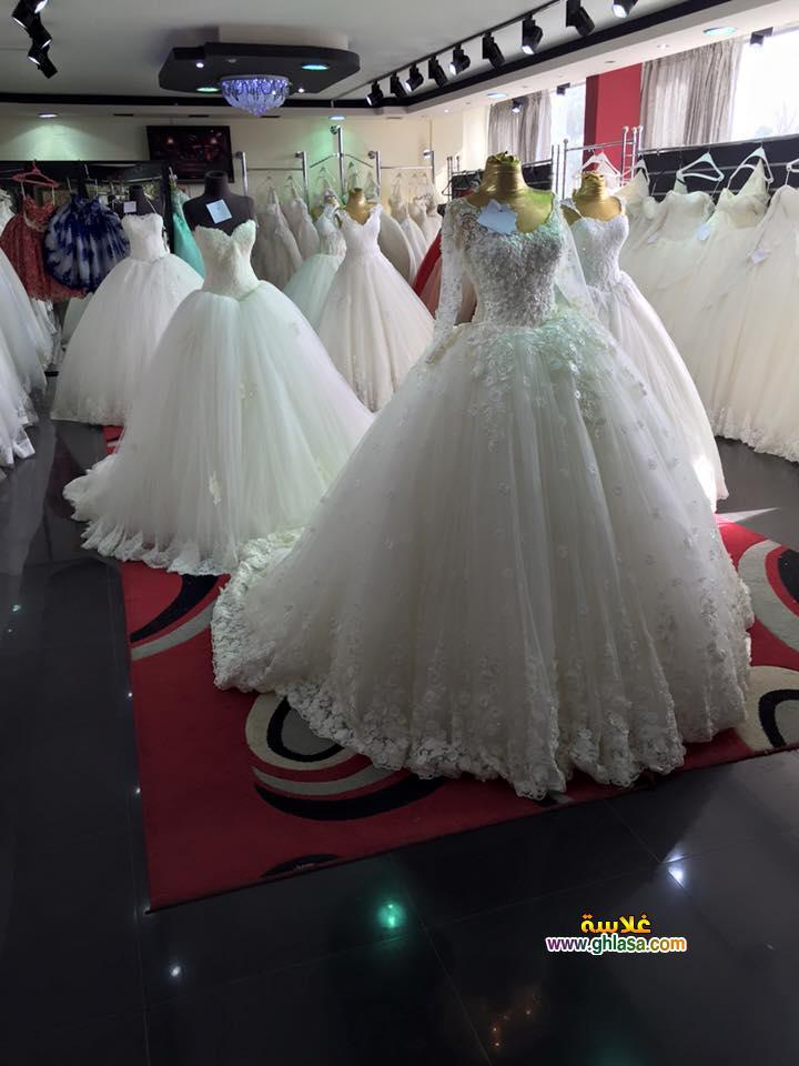 اجمل فستان زفاف 2018