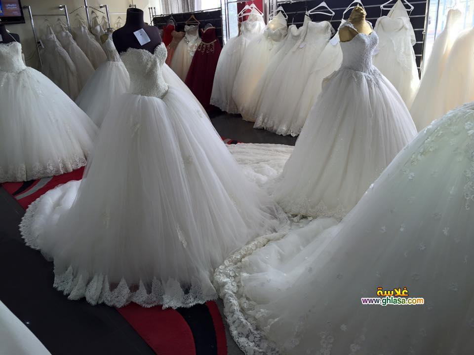 فساتين زفاف ليلة العمر 2018