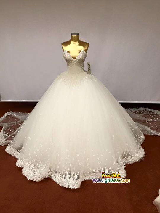 صور فساتين زفاف جميلة للعروسة الشيك