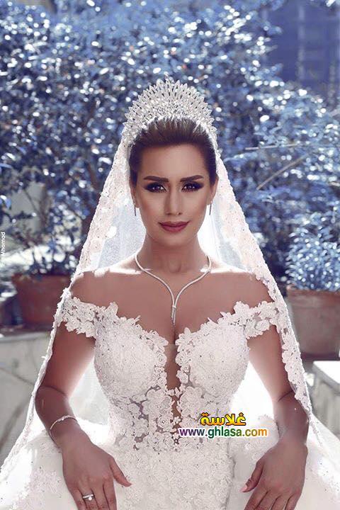 احلى فساتين زفاف 2018
