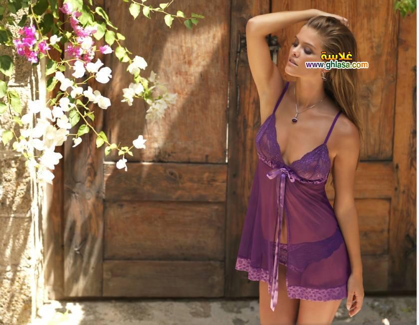 قميص نوم وردة البنفسج