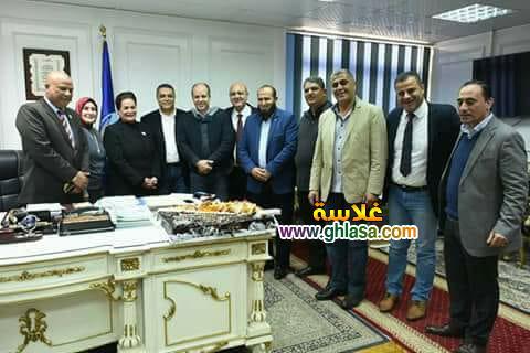 نواب البحيرة يحتفلون مع نادية عبدة وشوارع المحافظة تشهد على اهمال المسؤالين