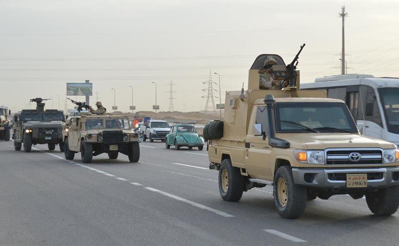 بيان رقم 5 بشأن  العملية الشاملة للقوات المسلحة سيناء 2018