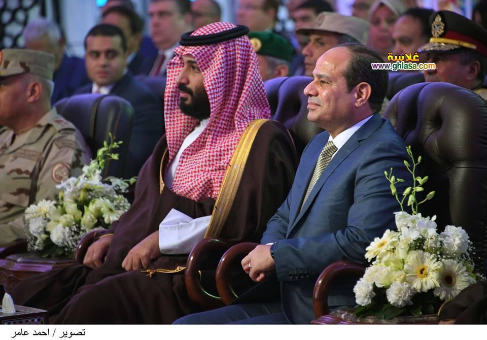 صور زيارة محمد بن سلمان الى مصر 2018