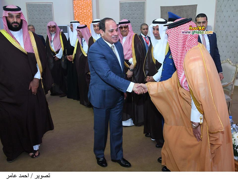 3 - تفاصيل لقاء السيسي بالامير محمد بن سلمان ولي عهد السعودية في مصر اليوم