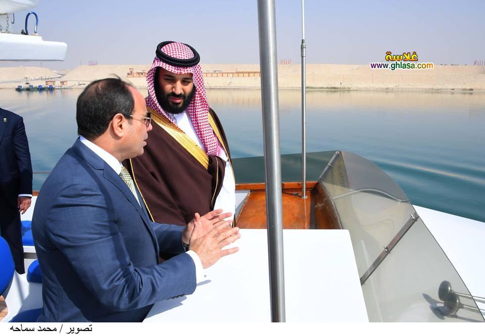 6 - تفاصيل لقاء السيسي بالامير محمد بن سلمان ولي عهد السعودية في مصر اليوم
