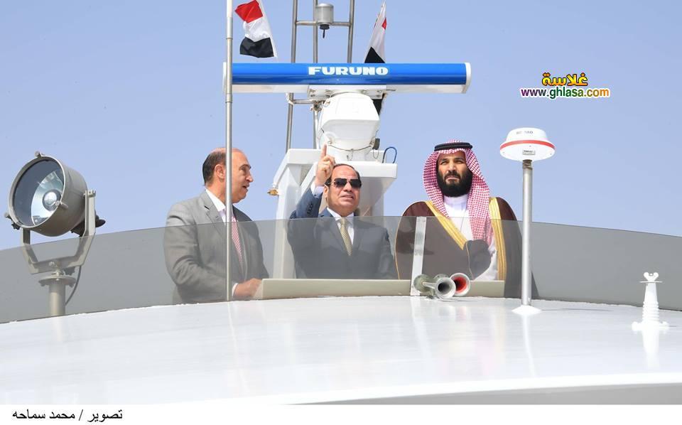8 - تفاصيل لقاء السيسي بالامير محمد بن سلمان ولي عهد السعودية في مصر اليوم