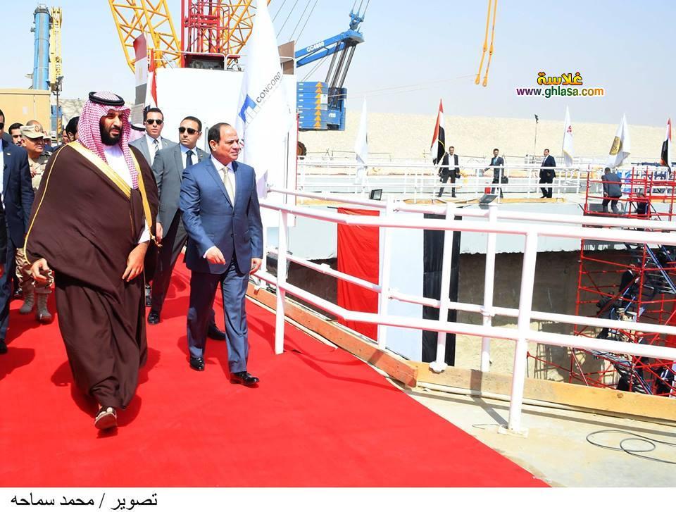 9 - تفاصيل لقاء السيسي بالامير محمد بن سلمان ولي عهد السعودية في مصر اليوم
