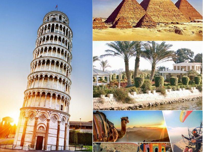 بحث عن السياحة و انواع السياحة في مصر و مقاومات السياحة جاهز للطبع
